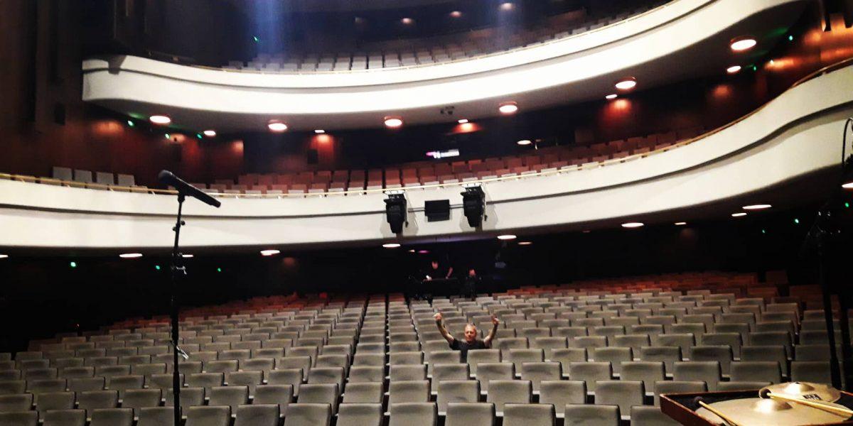 Soundcheck im Theater